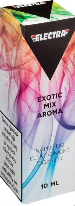 Liquid ELECTRA Exotic mix (Mix exotického ovoce) - 10ml