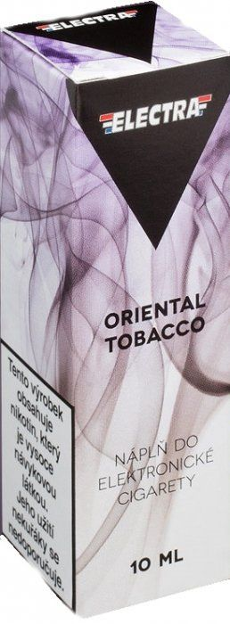 Liquid ELECTRA Oriental Tobacco - 10ml