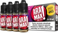 Liquid ARAMAX 4Pack Max Berry - 4x10ml