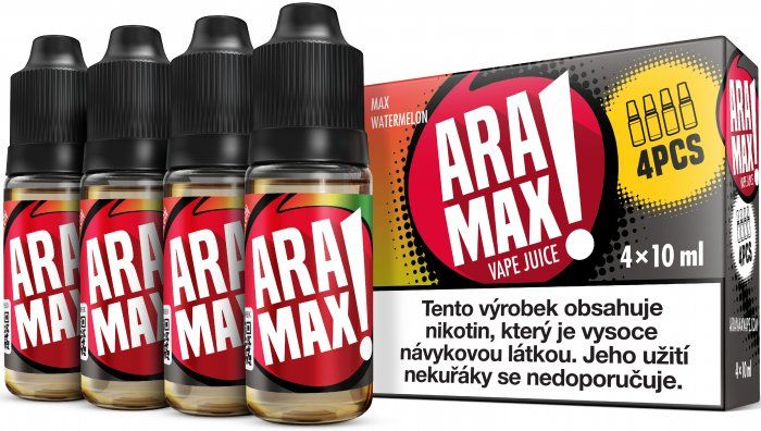 Liquid ARAMAX 4Pack Max Watermelon - 4x10ml