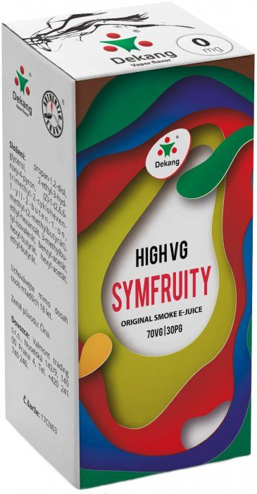 Liquid Dekang High VG Symfruity (Ovocný mix) - 10ml