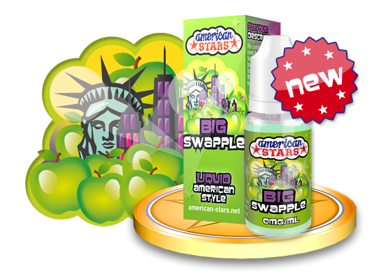 American Stars Big Swapple 10ml Flavourtec