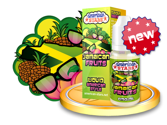 American Stars Jamaican Fruits 10ml Flavourtec
