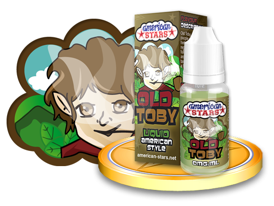 American Stars Old Toby 10ml Flavourtec