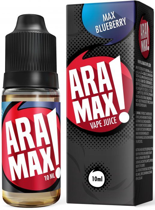 Liquid ARAMAX Max Blueberry - 10ml