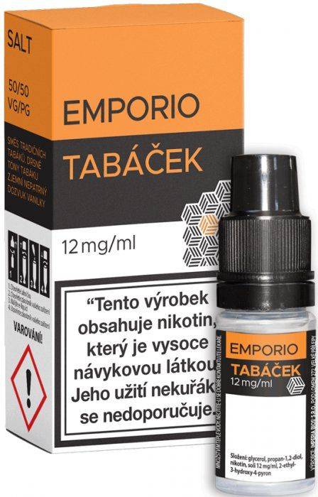 Liquid EMPORIO SALT Tobacco 10ml