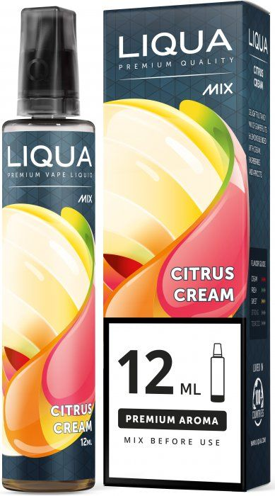 Příchuť Liqua Mix&Go Citrus Cream - 12ml