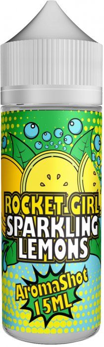 Příchuť Rocket Girl Shake and Vape Sparkling Lemons - 15ml