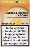 Liquid Ecoliquid Premium 2Pack Vanilla Coconut 2x10ml