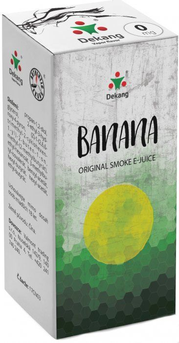 Dekang Banana 10ml (Banán)