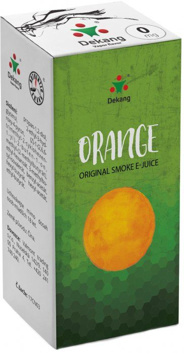 Dekang Orange 10ml (Pomeranč)