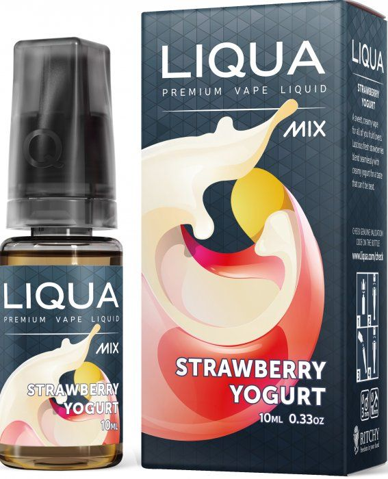 LIQUA MIX Strawberry Yogurt 10ml