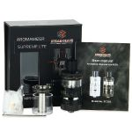 Steam Crave Aromamizer Supreme Lite RDTA - 2ml+5ml, Černý