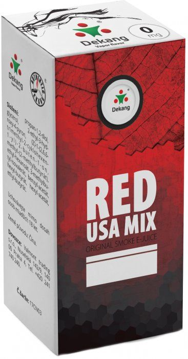 Liquid Dekang Red USA MIX - 10ml