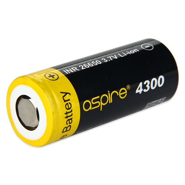 Aspire INR 26650 4300mAh High-drain Battery - 40A