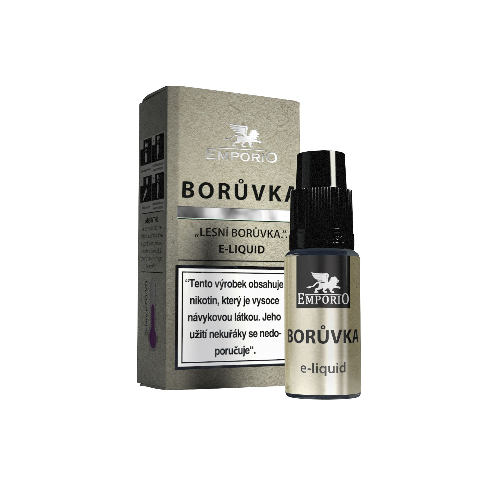 E-liquid Emporio Borůvka 10ml