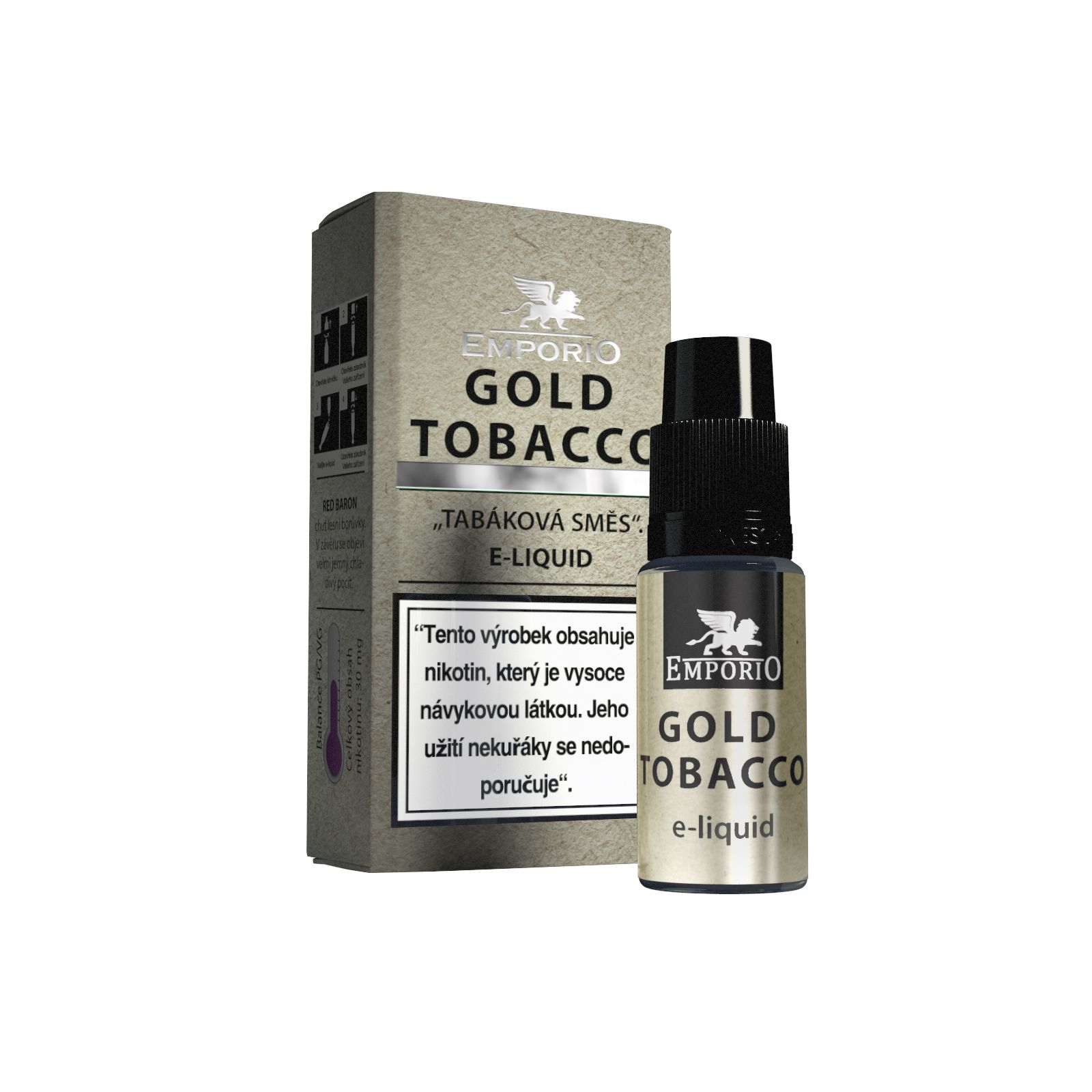 E-liquid Emporio Gold Tobacco 10ml
